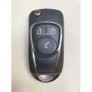 OPEL, 3 кнопки, чип PCF7937E, 433Mhz,HU100(арт-R5)